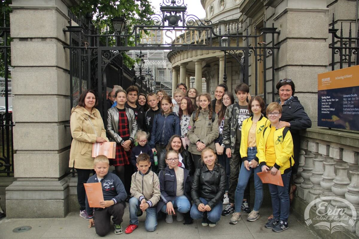 Russian Juniors And Italian Students At Erin (1)