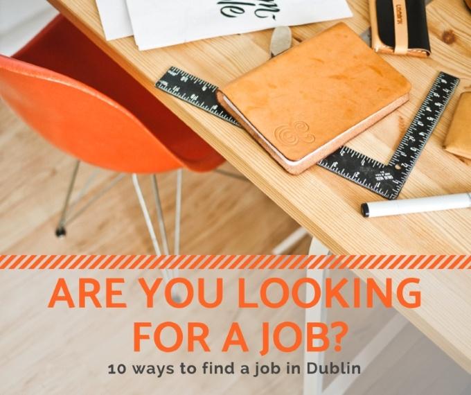Cómo encontrar un trabajo en Dublín