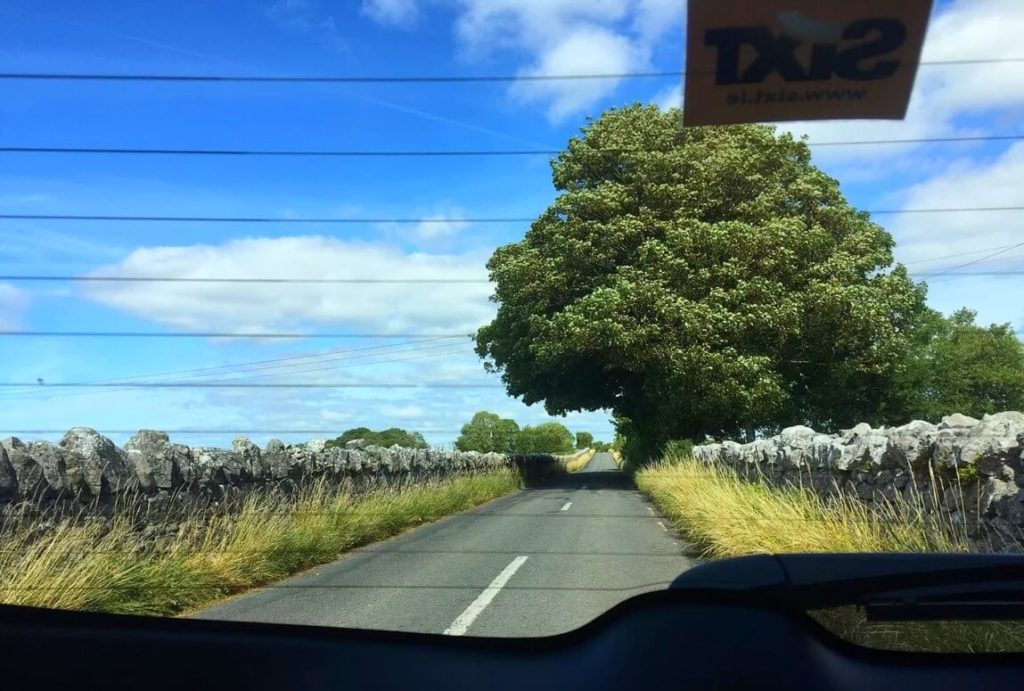 Beautiful Irish backroad