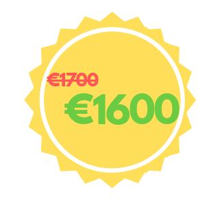price: 1600 euro