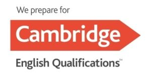 KET, PET, FCE, CAE, CPE Préparateur de Cambridge logo