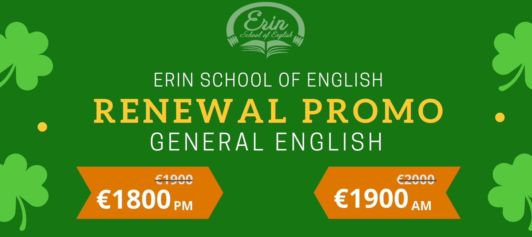 Visa Renewal Course at Erin School of English