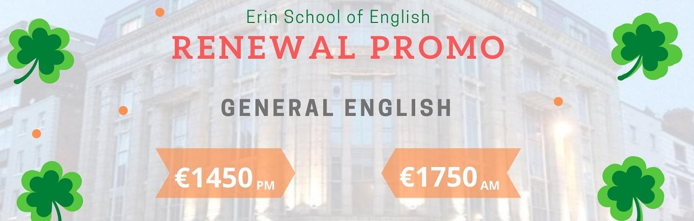 Curso de Renovación de Visa en Erin School of English